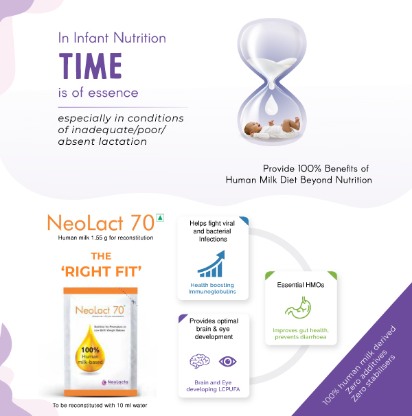 Neolacts 70 human milk based