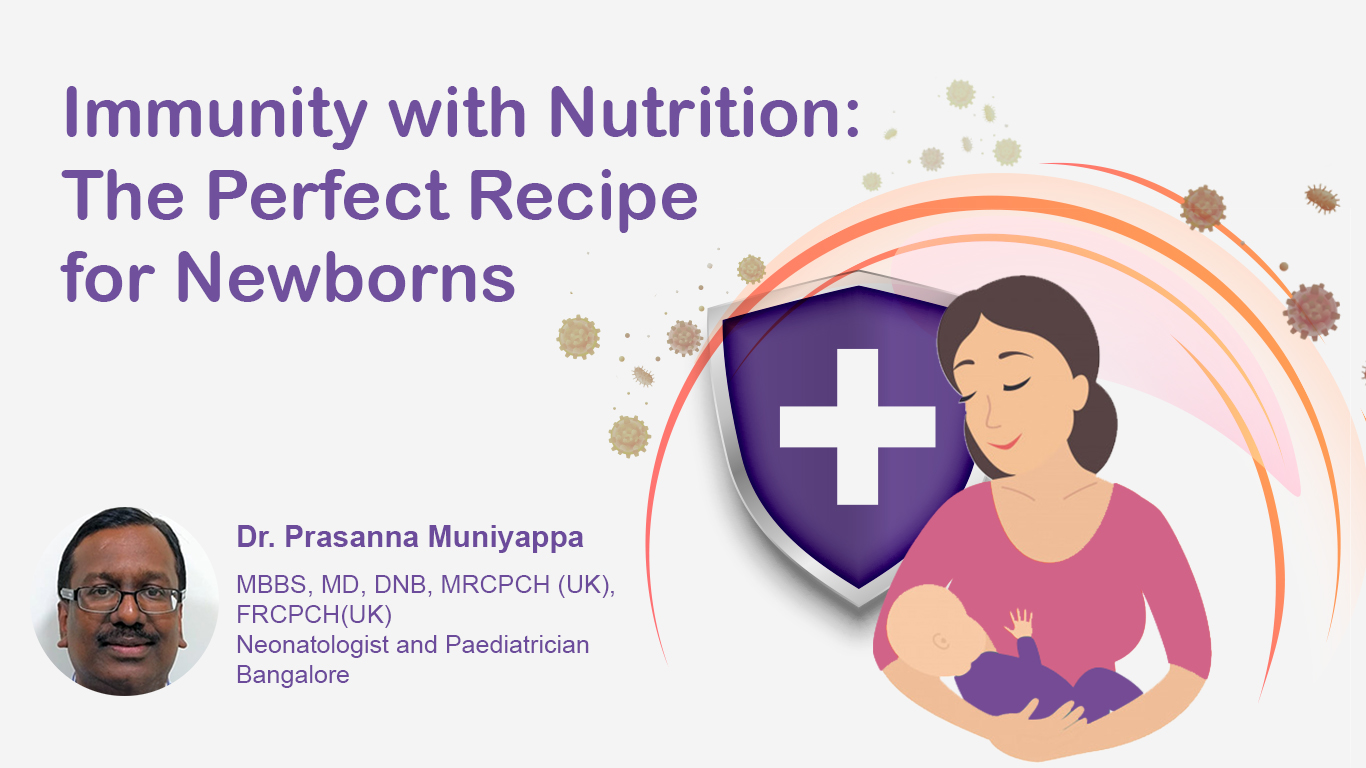 Immunity with Nutrition: The Perfect Recipe for Newborns