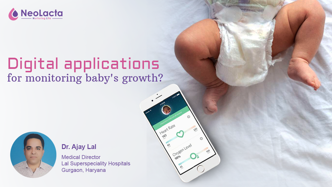 Digital Applications For Monitoring Baby's Growth