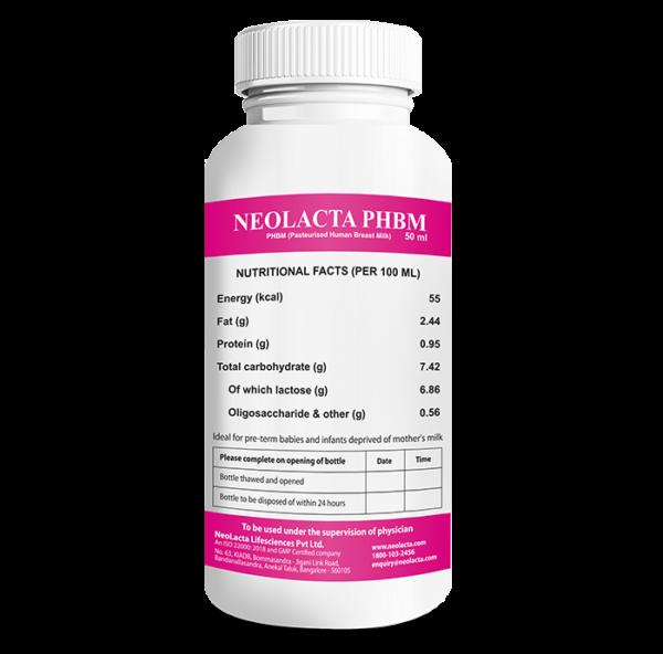 NeoLacta PHBM Standard 50 ml Bottle1