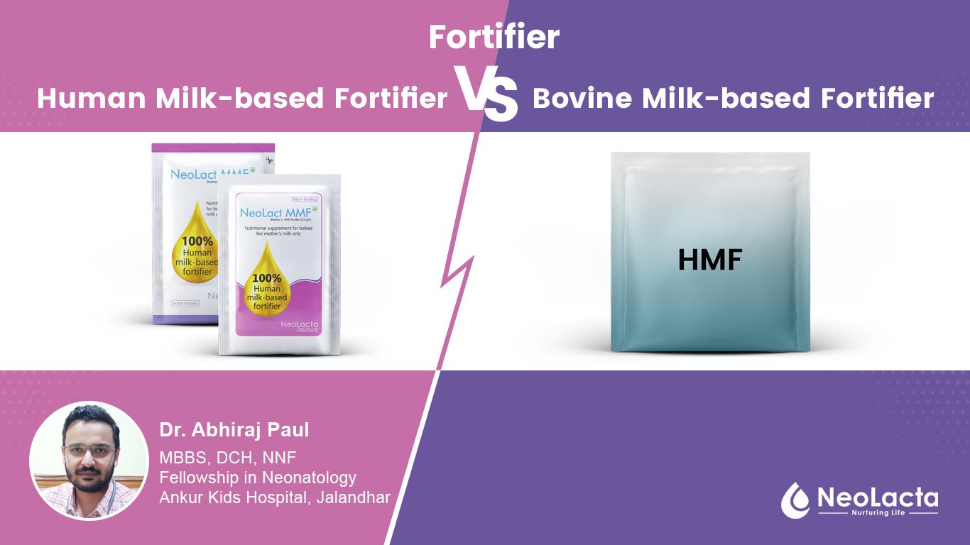 Human Milk-based Fortifier versus Bovine Milk-based Fortifier